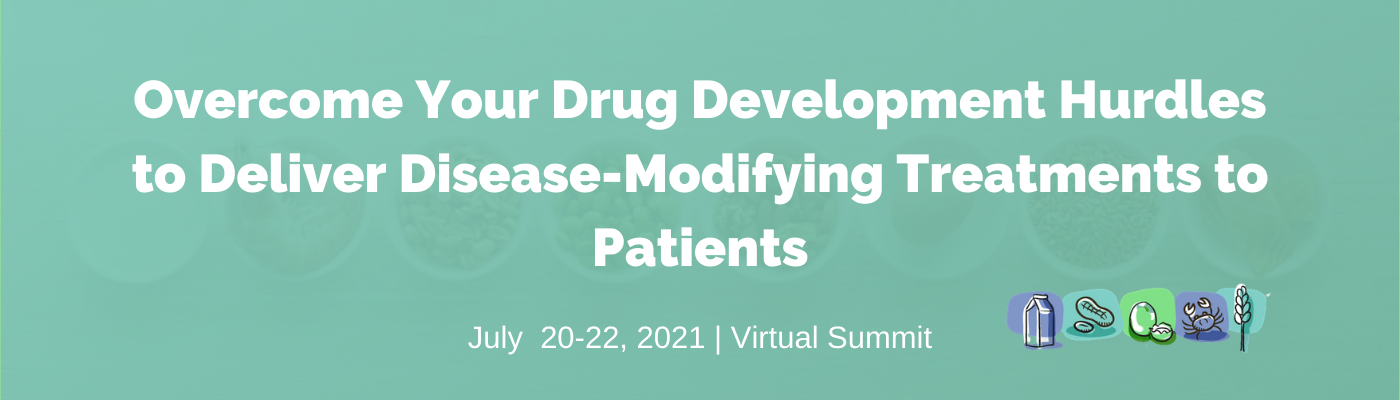 strapline - Overcome Your Drug Development Hurdles to Deliver Disease-Modifying Treatments to Patients